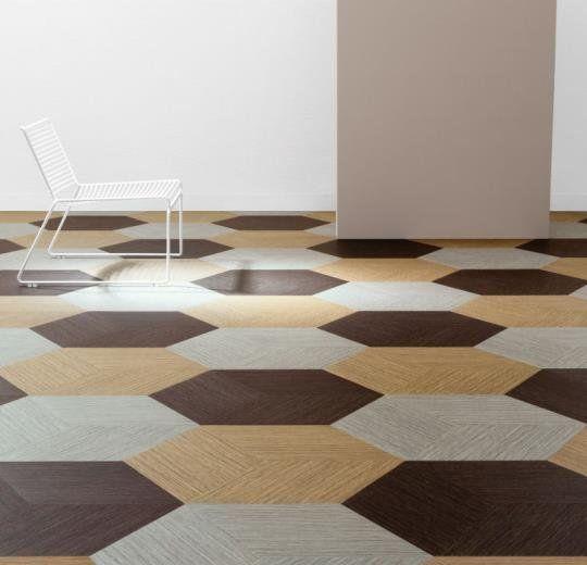 Sisal floor tiles