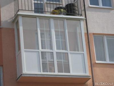 """Балкон """"хрущевка"""" от компании окна пруссии купить в городе к."""