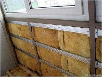 Утепление балкона фольгированными утеплителями от компании д.