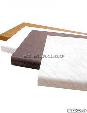 Столешница пластиковая 18мм столешница для кухни искусственный камень своими руками