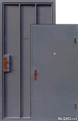 однолистовая металлические двери акция