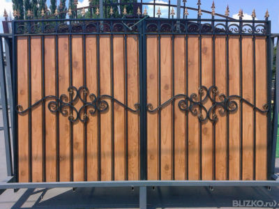 Дачные ворота купить куплю железные ворота