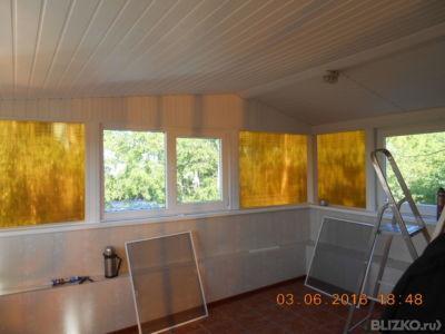 Обшивка балкона панелями мдф от компании ремонт квартир под .