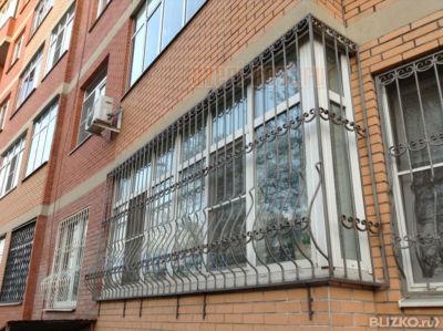 Металлические решетки на балкон ferrito.