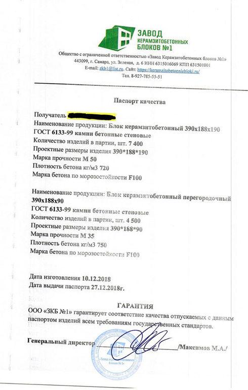 Паспорт на товарный керамзитобетон керамогранит бетон 60х60
