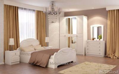 спальня александрина мдф от компании мебельный берег купить в городе